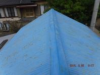 栃木県上三川町 【屋根の塗装工事】施工前