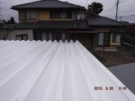 栃木県上三川町 【屋根の塗装工事】工程その3