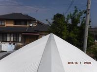 栃木県上三川町 【屋根の塗装工事】工程その2