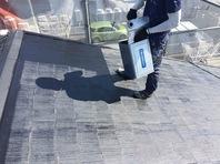 茨城県 水戸市 アパート[屋根・外壁の塗装塗り替え]工程その3