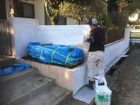 茨城県 笠間市 【塀の塗り替え】工程その3