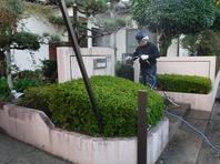 茨城県 笠間市 【塀の塗り替え】工程その1