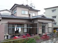 茨城県 水戸市 【屋根塗装・外壁塗装】施工前