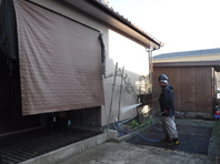茨城県 水戸市 【屋根塗装・外壁塗装】工程その1