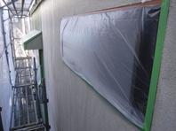 那珂市 か和とく様 外壁塗装(養生)