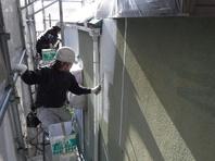 那珂市 か和とく様 屋根塗装・外壁塗装 (下塗り)