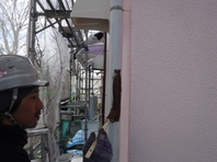 那珂市 か和とく様 付帯部分塗装(雨樋・破風・霧よけ・雨戸)
