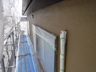 潮来市 Y様 外壁塗装 (中塗り・上塗り)