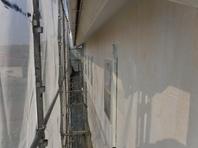 城里町  T様  外壁塗装(養生・下塗り)