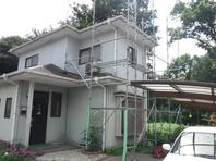 城里町 S様  屋根・外壁塗装(施工前)