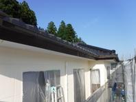 笠間市  S様  外壁塗装(中塗り)