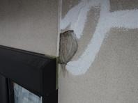 城里町 M様  外壁補修(施工前・施工中・完了)