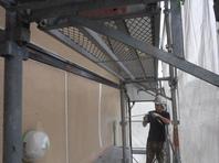 城里町  M様  外壁塗装(養生・高圧洗浄)