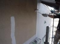 城里町 M様 外壁塗装(下塗)