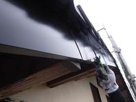 城里町  M様  破風塗装(施工前・施工中・施工後)