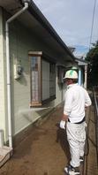 鹿嶋市  K様  外壁塗装(着工前・高圧洗浄)