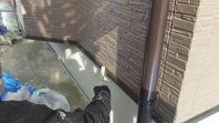 宇都宮市 K様邸 水切り塗装(ケレン・下塗り・中塗り・上塗り)