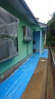 鹿嶋市  K様  外壁塗装(上塗り)