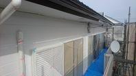 日立市 T様邸 外壁塗装(中塗り)