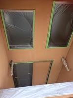 水戸市 Gアパート 外壁塗装(外壁補修・養生)