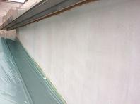 水戸市 Gアパート 外壁塗装 (施工前・下塗り)