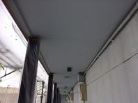 水戸市 Gアパート 軒天塗装工事