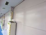 水戸市 Gアパート 外壁塗装 (中塗り・上塗り)
