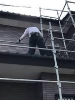 真岡市  K様  外壁塗装(架設足場組み立て)