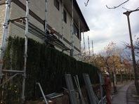 水戸市  K様邸  屋根・外壁塗装(仮設足場組立)