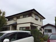 水戸市  K様邸  屋根・外壁塗装(着工前)