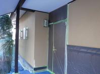 水戸市  Y様邸  外壁塗装(施工前・下塗り)