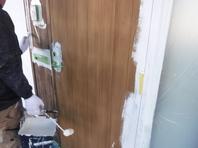 水戸市  M様邸  外壁塗装(下塗り)