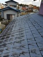 水戸市  I様邸  屋根塗装(施工前・高圧洗浄)