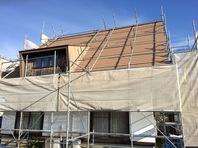 水戸市  M様邸  屋根・外壁塗装(架設足場組立)