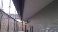 城里町  N様邸  外壁塗装(中塗り・上塗り)