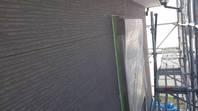 城里町  N様邸  外壁塗装(施工前・下塗り)
