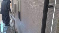 城里町  N様邸  外壁塗装(高圧洗浄)