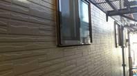 真岡市  N様邸  外壁目地補修(施工前・打設・完成)