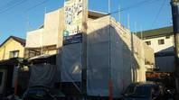 真岡市  T様邸  外壁塗装(仮設足場組み立て)