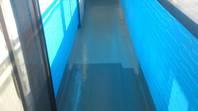 真岡市 T様邸 ベランダ防水(施工前・下塗り・樹脂塗布)