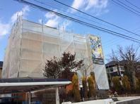 常陸太田市 S様邸 屋根・外壁塗装(仮設足場組立)