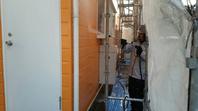 常陸太田市 S様邸 外壁塗装(高圧洗浄)