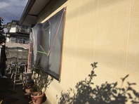 日立市 M様邸 外壁塗装(養生)