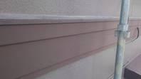 日立市 K様邸 帯塗装(施工前・ケレン・下塗り・上塗り)