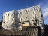 日立市 K様邸 屋根・外壁塗装(架設足場組立)
