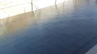日立市 K様邸 屋根塗装(上塗)
