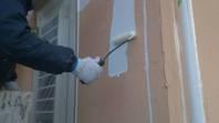筑西市 N様邸 外壁塗装(養生・下塗り)