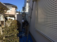 常陸太田市 H様邸 屋根・外壁塗装(架設足場組立)