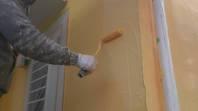 筑西市 N様邸 外壁塗装(上塗り)