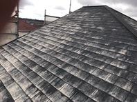 常陸太田市 H様邸 屋根塗装(施工前・下塗)